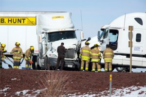 Tired Truck Drivers